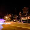 st augustine city street scenes atnight