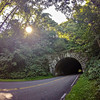 tunnel leading to blue ridge parkway