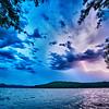 beautiful landscape scenes at lake jocassee south carolina