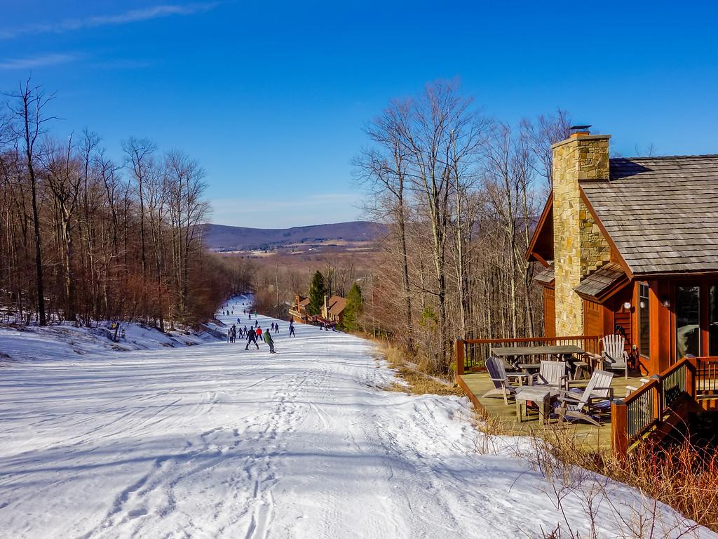 scenery around timberline ski resort west virginia