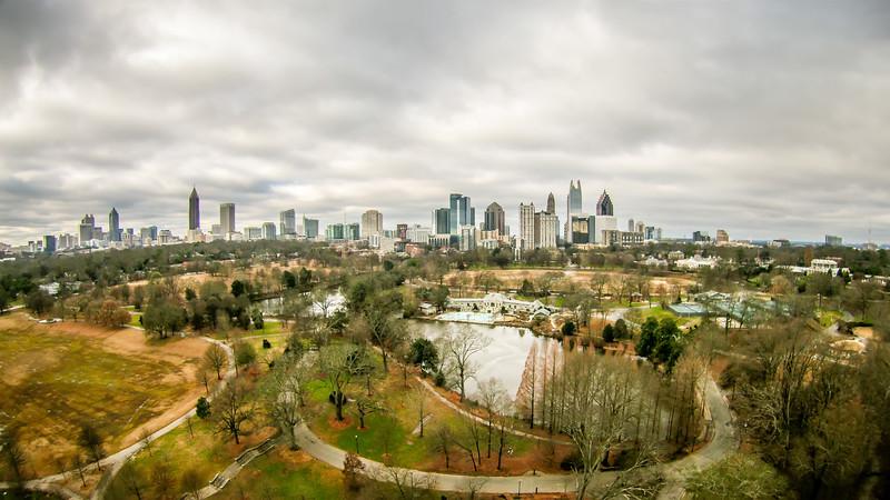 atlanta georgia city skyline