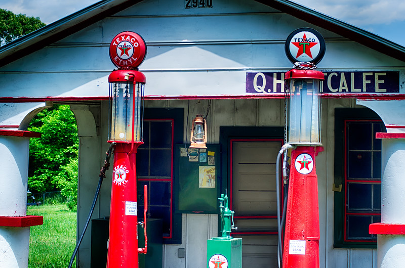 old gas station in south carolina