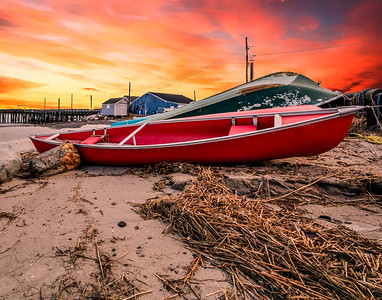 Sunrise at Pine Point