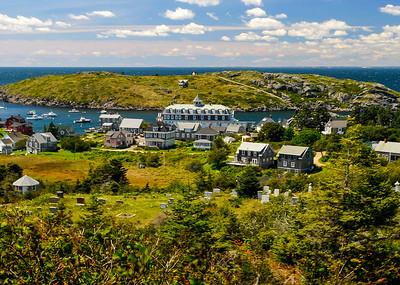 Monhegan Island Village
