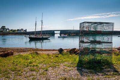 Cribstone Bridge, Bailey Island