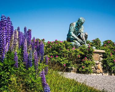 Lobsterman's Statue, Bailey Island