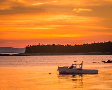 Deer Isle Sunset