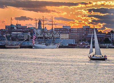 Sunset on Portland Harbor