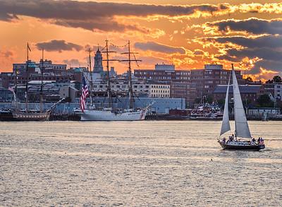 Sunset on Portland Harbor