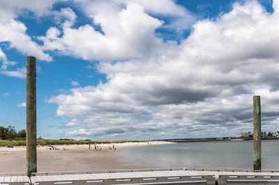 Ferry Beach in Summer