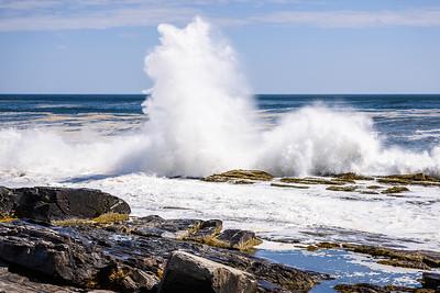 Crashing Waves at Two Lights