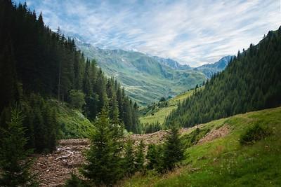 Alpine Ridanna valley