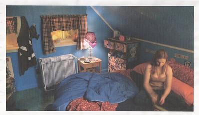 Babylon fields 2007 stage build 'bedroom'