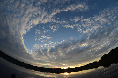 Añangu Lake, South bank of the Napo River, Northeast Amazonian Ecuador