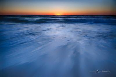 """Light Waves..."" Three image HDR Set. Sunset, Anna Maria Island, Florida"