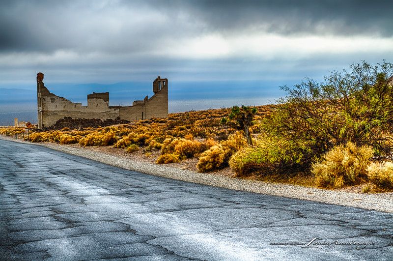 The Ruins of Cook Bank ~ Rhyolite, Nevada