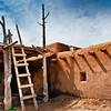 Typical house, Taos Pueblos, Taos, New Mexico