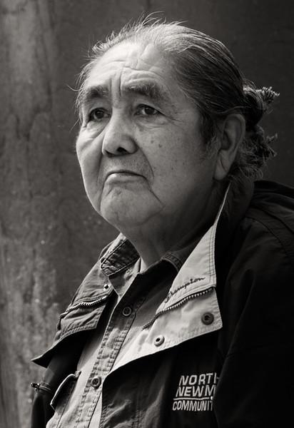 Portrait, Ancestral Puebloan, Taos Pueblo, Taos, New Mexico