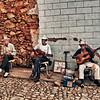 Trinidad street musicians