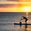 "Kayaker, silouhette, Naples, Florida, sunset, ""Wiggins Pass State Park"", beach"