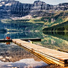 Cameron Lake, in Waterton Lakes National Park, Canada (Canadian extension of Glacier National Park)