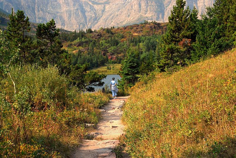 Trail to Redrock Falls