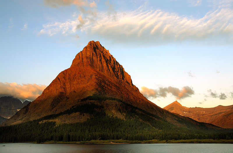 Sunrise, Swiftcurrent Lake