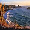 Ocean scene at sunset master