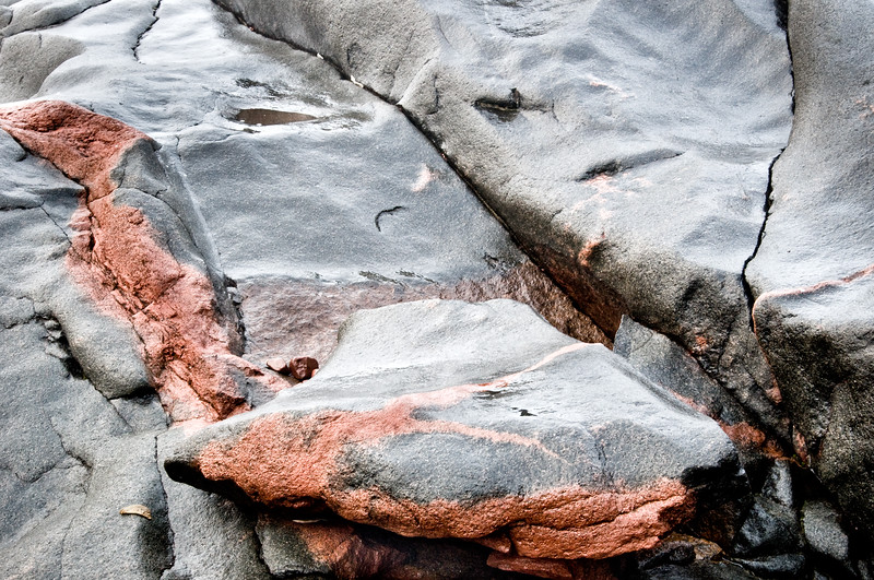 Duluth, Ledges Park, rock abstract