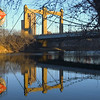 Minneapolis, Hennepin Ave. bridge over Mississippi River