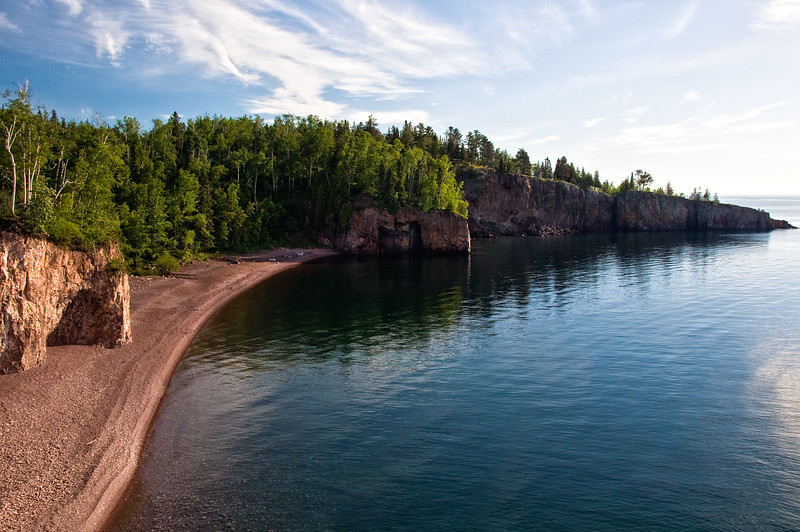 MN North Shore, Palisade Head