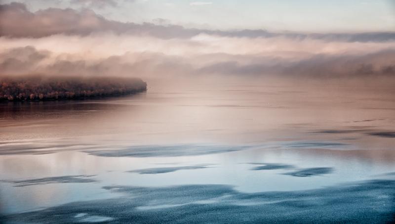 Foggy Point No Point, Lake Pepin