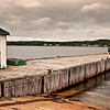 Fishermen, La Have ferry landing, near Lunenburg, Nova Scotia