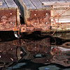 Dock and reflections, Camden, Maine