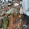 Rocks at Moose Point Park, near Rockport, Maine