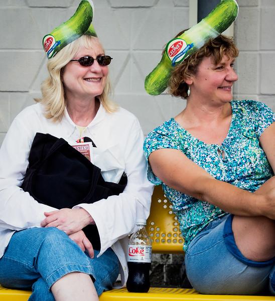 Women in a pickel?