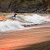 Surfer, Rodeo Beach, Marin Headlands, California
