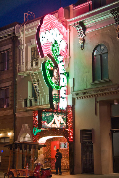 North Beach night club