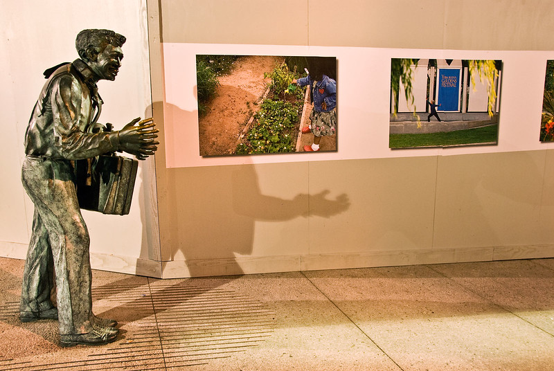 Yerba Buena Gardens sculpture