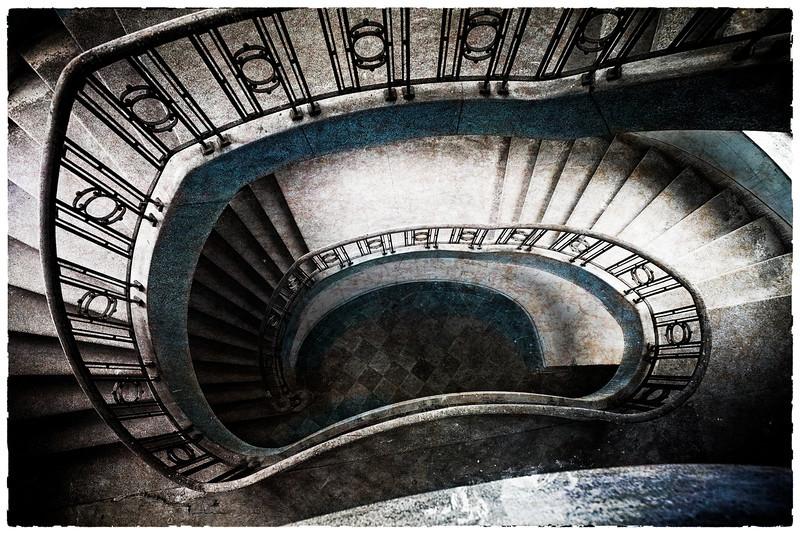 Spiral Stairs At Wünsdorf