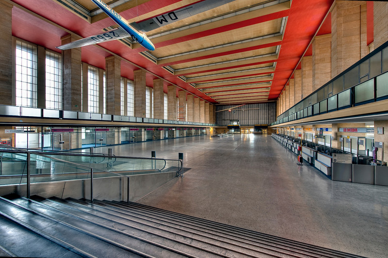 Tempelhof Airport, Berlin - Main Hall