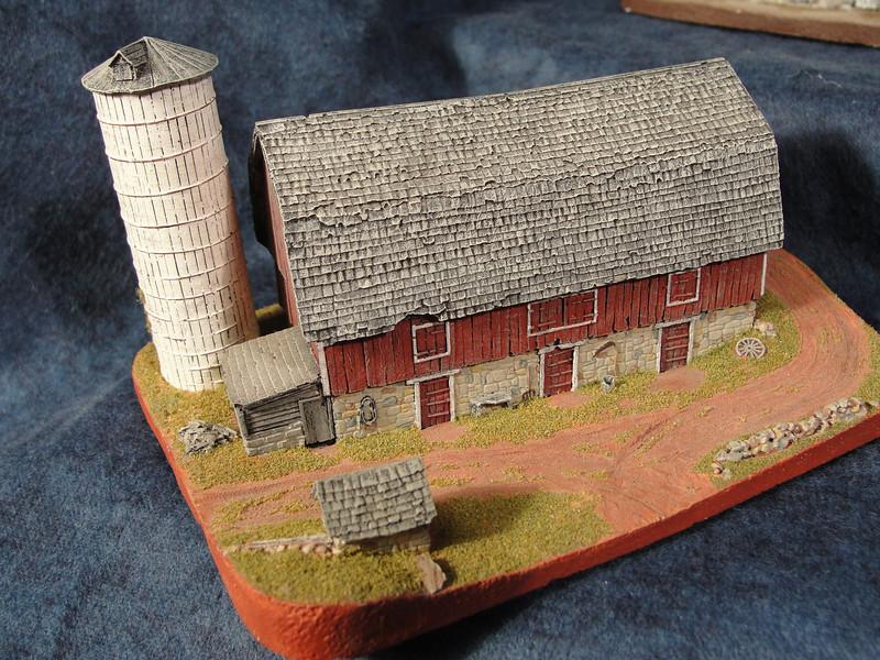 Gambrel Roof Banked Barn