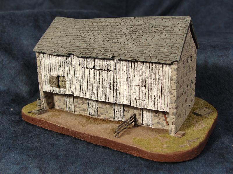 Stone Banked Barn