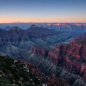 North Rim, Dawn