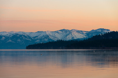Tranquil Tahoe Sunrise
