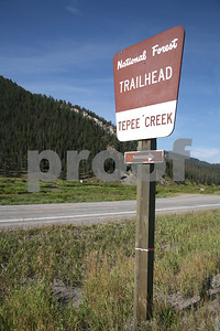Teepee Creek Trailhead, Gallatin National Forest, Montana