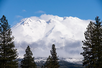 Mt. Shasta, Winter