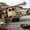 Rusticating Vintage Crane Truck