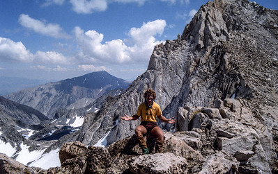 At Cox Col, below Summit of Bear Creek Spire