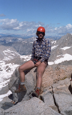 At the Summit of Bear Creek Spire